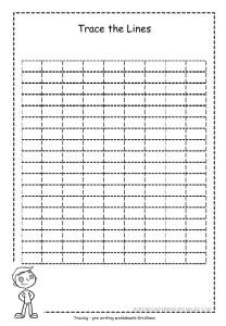Grid Tracing Worksheet