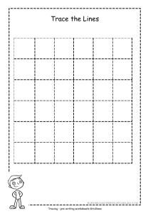 Grid Tracing Sheet