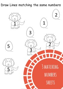 Number Matching Sheets